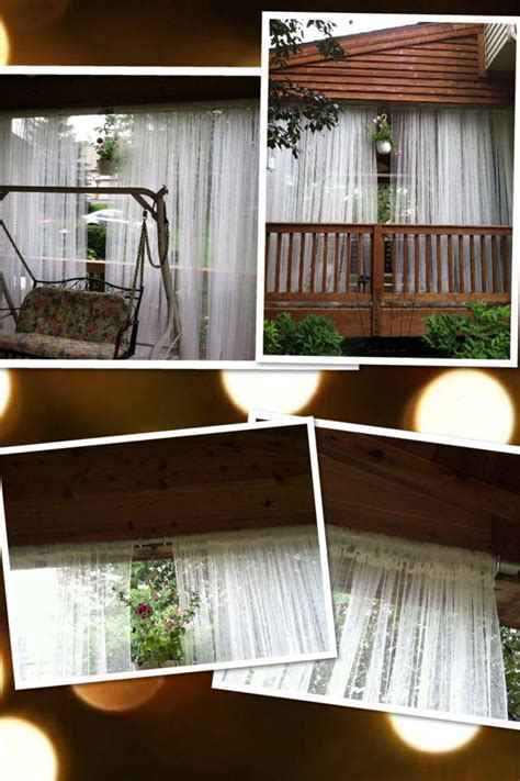 Outdoor Drapes Ikea by Outdoor Curtains 5 Pair From Ikea Galvanized