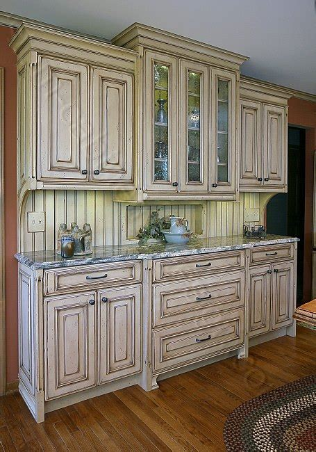 kitchen furniture hutch distressed kitchen cabinets custom made cabinets and design ideas