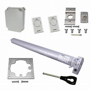 kit motorisation porte garage enroulable faac 9m2 avec With moteur porte de garage enroulable