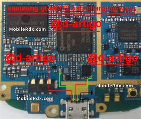 samsung gt 6312 charging ways solution usb jumper