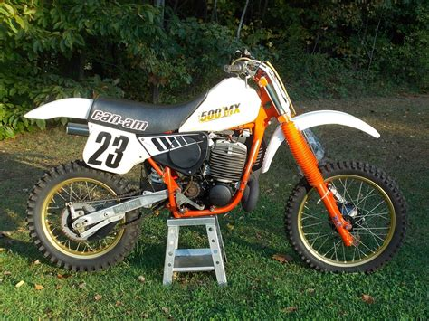 ebay motocross bikes for sale 1984 can am 500mx very nice low use survivor 500cc