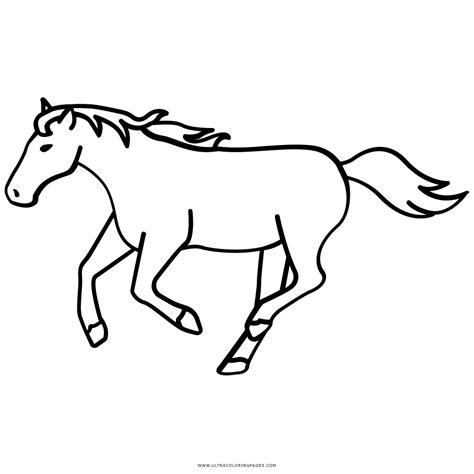 immagini di cavalli da colorare per bambini disegno di cavallo al trotto da colorare disegni da