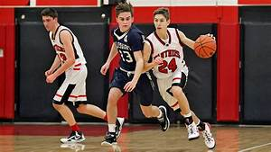 Salisbury at Saucon Valley boys high school basketball ...