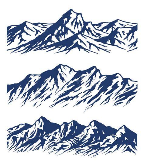 Escala de montanha ilustração do vetor Ilustração de