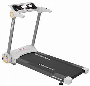 Ultrasport tapis de course avec capteurs cardiaques for Tapis de course avec canapé grande dimension