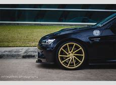'Dark Knight' BMW M3 Gets CVT Wheels autoevolution