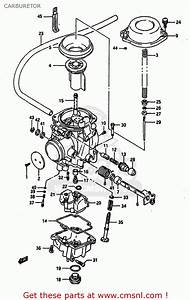 Suzuki Dr650rs 1990  L   2 4 15 E16 E17 E18 E21 E22 E24
