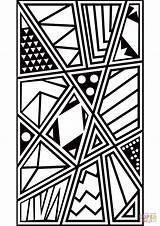 Coloring Pop Pattern Patterns Printable Supercoloring Drawing Arts Adult Cartoon Paper Albanysinsanity Categories sketch template