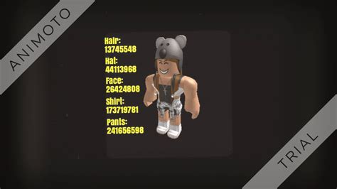 roblox high school girl outfit codes youtube