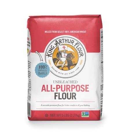 king arthur unbleached  purpose flour  lb