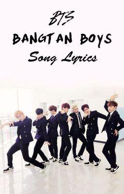 bts bangtan boys song lyrics trouble rap monster