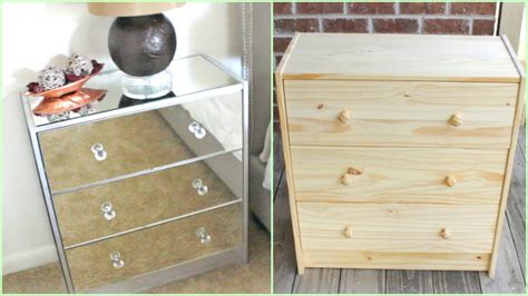 Mirrored Nightstands (ikea Hack!!!) Large Chest Of Drawers Wooden Flat Pack Drawer Runners Make Your Own Stone Pulls 906mm Olympia Gloss White Vanity Unit Belfort Pan Bedslide Truck Bed System Bottom Publications Under Sink Storage Hopen 4 Dimensions