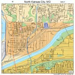 North Kansas City MO Street Map