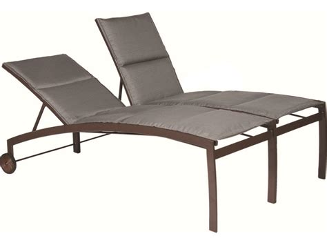 suncoast vision sling cast aluminum chaise lounge with wheels 7997