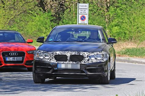 BMW 1 Series Facelift Spied With Less Camouflage In