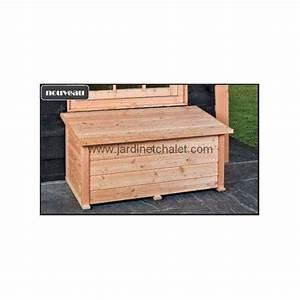 Coffre De Terrasse : coffre de rangement jardin terrasse exterieur en bois m l ze douglas ~ Melissatoandfro.com Idées de Décoration