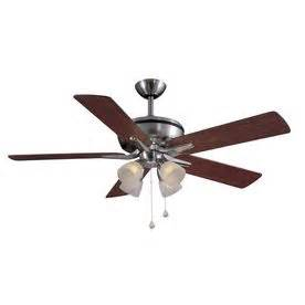 ceiling fans with lights fan with light and brushed nickel ceiling fan on