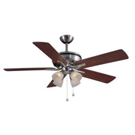 harbor 52 inch bellhaven ceiling fan ceiling fans with lights fan with light and brushed