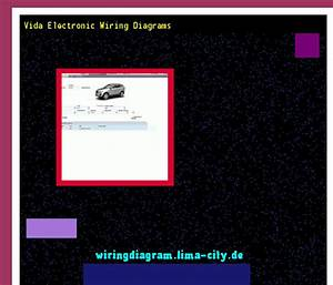 Vida Electronic Wiring Diagrams  Wiring Diagram 174623