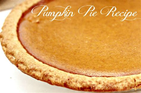 pumpkin pie recipe with real pumpkin pumpkin pie recipe thankful at home mom 4 real