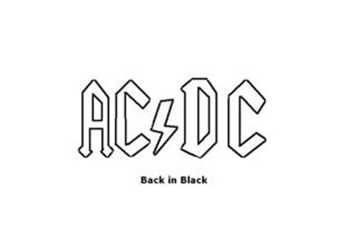 draw ac dc   black logo step  step drawing