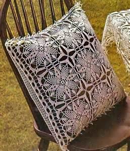 Crochet Pillow Cover Pattern