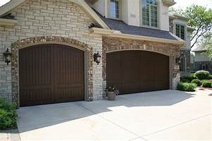 carriage house garage doors faux wood french country With country style garage doors