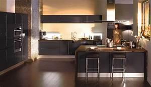 Cuisines Amenagees : cuisines amenagees modeles magasin meuble cuisine pas cher cbel cuisines ~ Melissatoandfro.com Idées de Décoration