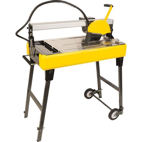 Husky Tile Saw Home Depot by Qep 24 Inch Bridge Tile Saw With Water System The Home