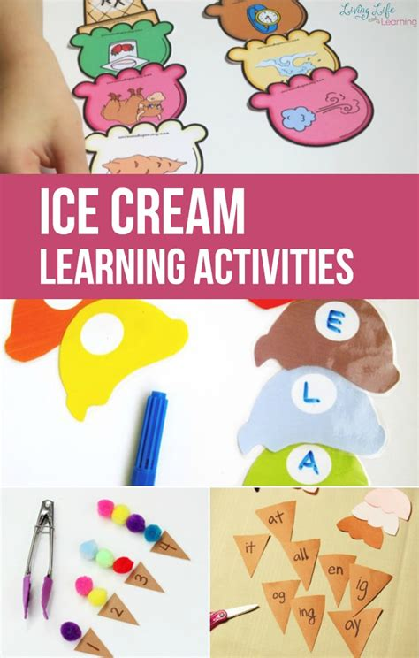 Ice Cream Learning Activities