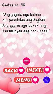 Bisaya Love Quo... Banat Bisaya Love Quotes