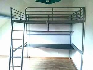 Ikea Lit Deux Places : lit deux places mezzanine ~ Teatrodelosmanantiales.com Idées de Décoration
