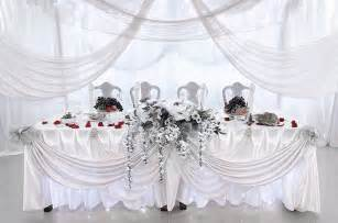 deco de mariage tenture mariage organza tentures mariage