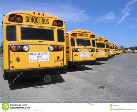 bus row royalty  stock  image