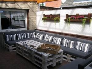 Paletten Lounge Anleitung : lounge aus paletten anleitung 60 wohnideen mit europaletten palettenmbel selber bauen nowaday ~ Whattoseeinmadrid.com Haus und Dekorationen