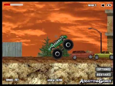monster truck game videos monster truck games monster truck demolisher youtube
