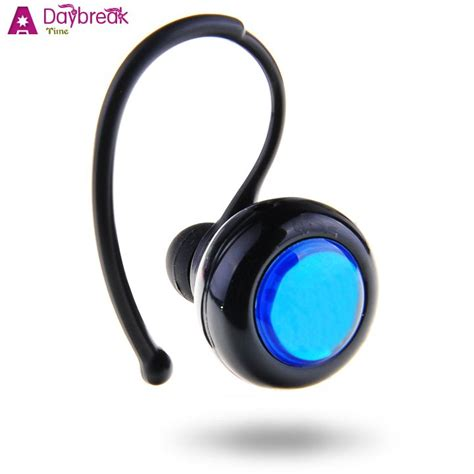 headset for android phone black in ear stereo bluetooth earphone wireless headset