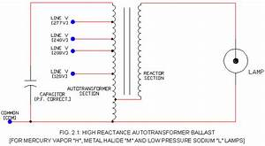 Hid Ballast Schematic S  - High Reactance Type