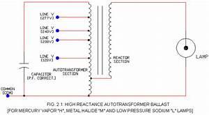 Hid Ballast Schematic S  - High Reactance Type