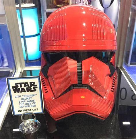 sdcc  close     sith trooper helmet