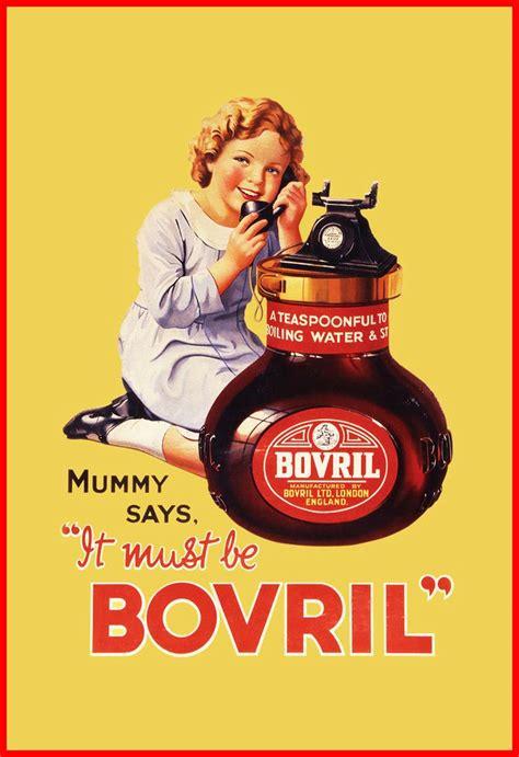 affiche cuisine bovril vintage food drink poster retro advert