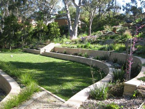 sloping garden design plans new ideas interior