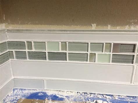 tile borders for kitchen backsplash kitchen backsplash glass tile border