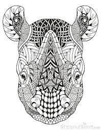 image result  rhino mandala mandala tattoos rhino