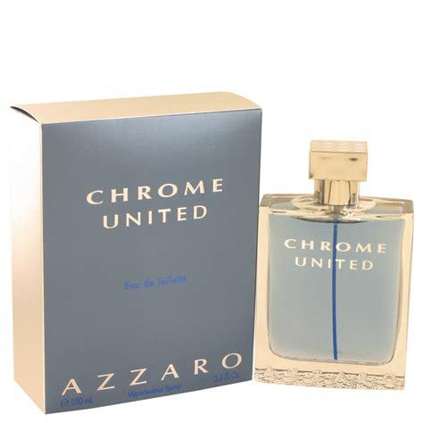 chrome united by azzaro 50 ml eau de toilette spray solippy