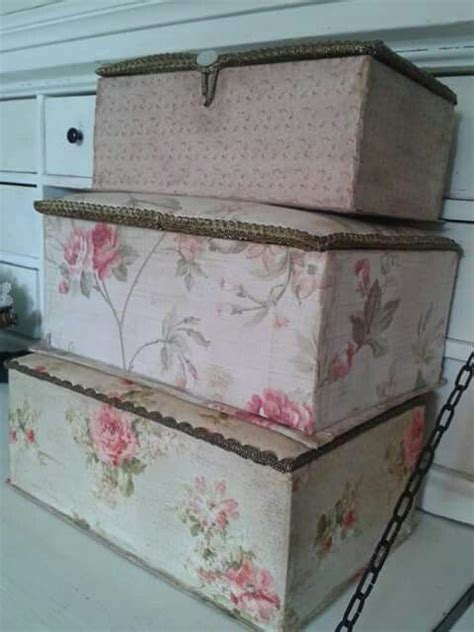 shabby chic chipping sodbury 289 best ideas about fabric covered boxes on pinterest vintage fabrics fabric covered and