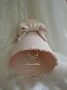 Abat Jour Rose : petit abat jour double face romantique et shabby chic le grenier d 39 alice ~ Teatrodelosmanantiales.com Idées de Décoration