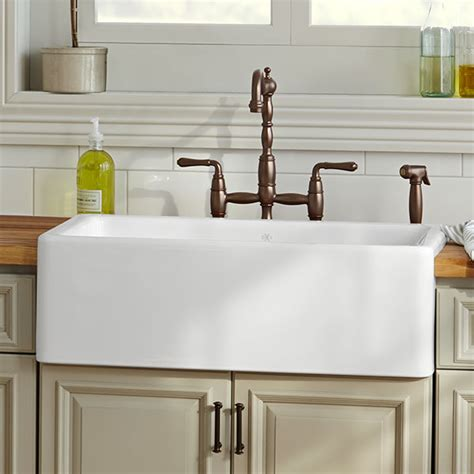 Kitchen Farm Sink  Hillside 30 Inch Kitchen Sink From Dxv