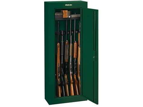 Stack On Security Cabinet 8 Gun by Stack On Steel Security 8 Gun Cabinet Green Mpn