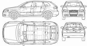 Blueprint Audi A3 Sportback